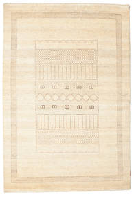 Gabbeh Loribaft Matto 148X216 Moderni Käsinsolmittu Beige (Villa, Intia)