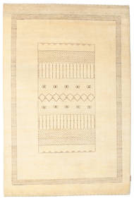 Gabbeh Loribaft Matto 154X232 Moderni Käsinsolmittu Beige/Tummanbeige (Villa, Intia)