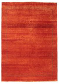 Gabbeh Loribaft Rug 150X213 Authentic  Modern Handknotted Rust Red/Orange (Wool, India)