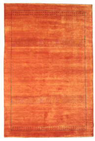 Gabbeh Loribaft Rug 149X222 Authentic  Modern Handknotted Orange/Rust Red (Wool, India)