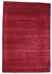 Gabbeh Loribaft Matto 118X175 Moderni Käsinsolmittu Punainen/Tummanpunainen (Villa, Intia)