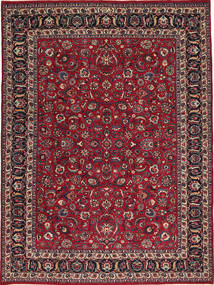 Mashad Patina Signed: Golpur Drakhsh Rug 250X335 Authentic  Oriental Handknotted Dark Red/Dark Brown Large (Wool, Persia/Iran)