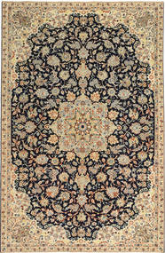 Najafabad Patina Rug 213X332 Authentic  Oriental Handknotted Dark Beige/Black (Wool, Persia/Iran)