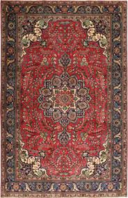 Tabriz Patina Matto 210X320 Itämainen Käsinsolmittu Tummanpunainen/Tummanruskea (Villa, Persia/Iran)