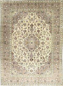 Keshan Alfombra 240X328 Oriental Hecha A Mano Marrón Claro/Beige (Lana, Persia/Irán)