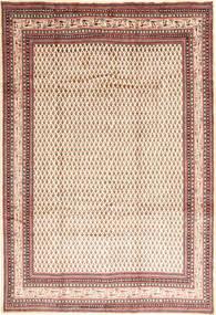 Sarough Mir Alfombra 225X325 Oriental Hecha A Mano Beige/Rojo Oscuro (Lana, Persia/Irán)