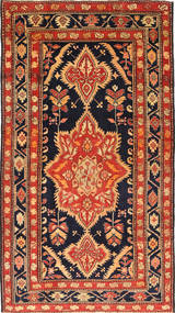 Ardebil Patina Rug 168X295 Authentic Oriental Handknotted Black/Rust Red (Wool, Persia/Iran)