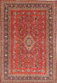 Hamadan Patina Matto 215X318 Itämainen Käsinsolmittu Ruskea/Tummanpunainen (Villa, Persia/Iran)