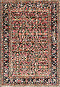 Yazd Patina Matto 244X355 Itämainen Käsinsolmittu Tummanharmaa/Vaaleanruskea (Villa, Persia/Iran)