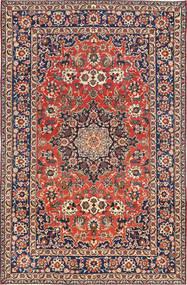 Najafabad Patina Matto 203X320 Itämainen Käsinsolmittu Tummanharmaa/Vaaleanruskea (Villa, Persia/Iran)