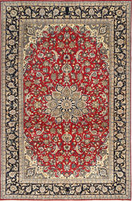 Najafabad Patina Rug 248X375 Authentic  Oriental Handknotted Light Brown/Dark Red (Wool, Persia/Iran)