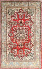 Hamadan Shahrbaf Teppe 202X330 Ekte Orientalsk Håndknyttet Beige/Lys Grå (Ull, Persia/Iran)