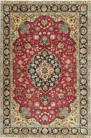 Tabriz Patina Teppe 200X305 Ekte Orientalsk Håndknyttet Mørk Grå/Mørk Beige (Ull, Persia/Iran)