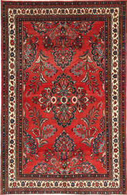 Lillian Patina Rug 181X282 Authentic  Oriental Handknotted Dark Red/Rust Red (Wool, Persia/Iran)