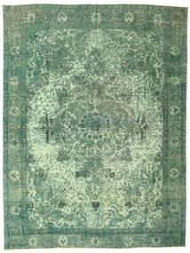 Colored Vintage Covor 284X378 Modern Lucrat Manual Verde Pastel/Verde Mare (Lână, Persia/Iran)
