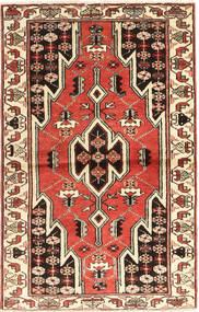 Saveh Dywan 83X132 Orientalny Tkany Ręcznie Ciemnobrązowy/Beżowy (Wełna, Persja/Iran)