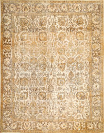 Colored Vintage Rug 298X385 Authentic  Modern Handknotted Light Brown/Dark Beige Large (Wool, Persia/Iran)