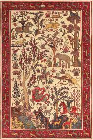 Saveh Patina figuratief / geïllustreerd tapijt MRA642