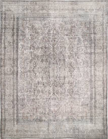 Colored Vintage Rug 285X374 Authentic  Modern Handknotted Light Grey/Dark Grey Large (Wool, Persia/Iran)