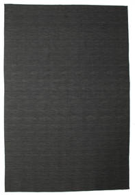 Kilim Loom - Black / Grey rug CVD14697