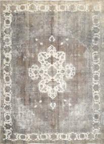 カラード ヴィンテージ 絨毯 285X393 モダン 手織り 薄い灰色/暗めのベージュ色の 大きな (ウール, ペルシャ/イラン)