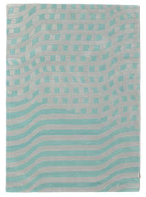 Passages Handtufted - Blue Rug 140X200 Modern Light Grey/Pastel Green (Wool, India)