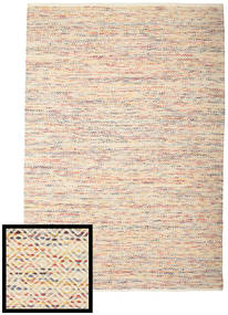Hugo - Multi Rug 250X350 Authentic  Modern Handwoven Beige/Dark Beige Large ( India)