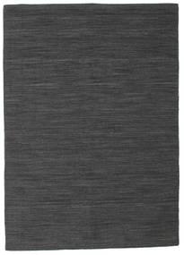 Tapis Kilim Loom - Noir / Gris CVD14567