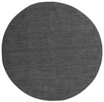 Kelim Loom - Schwarz / grau Teppich CVD14566