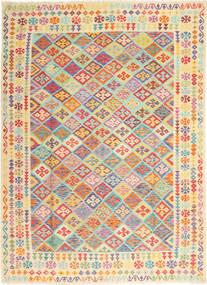 Kilim Afghan Old style carpet ABCS1064