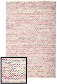 Hugo - Multi Pink Rug 200X300 Authentic  Modern Handwoven Beige/Light Pink ( India)