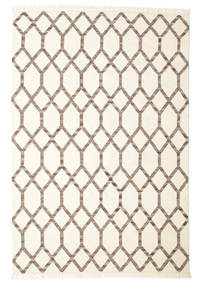 Renzo Rug 200X300 Authentic  Modern Handwoven Beige/Light Brown (Wool, India)