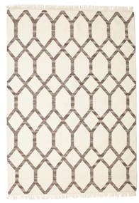 Renzo Rug 160X230 Authentic  Modern Handwoven Beige/Light Brown (Wool, India)