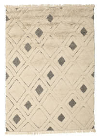 Yoko Rug 160X230 Authentic  Modern Handknotted Beige/Light Grey (Wool, India)