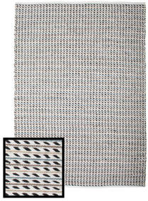 Ida Rug 160X230 Authentic  Modern Handwoven Light Grey/Beige (Cotton, India)