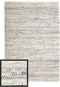 Hugo - Black/Grey Rug 140X200 Authentic  Modern Handwoven Light Grey/Dark Beige/Beige ( India)