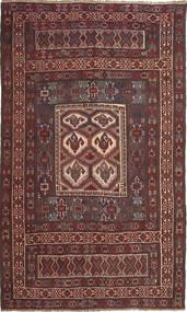 Kelim Russisch Sumakh Teppich  163X278 Echter Orientalischer Handgewebter Dunkelrot/Braun (Wolle, Aserbaidschan/Rußland)