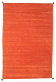 Loribaf Loom Matto 193X290 Moderni Käsinsolmittu Oranssi (Villa, Intia)