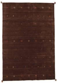 Loribaf Loom Covor 201X298 Modern Lucrat Manual Roșu-Închis/Maro Închis (Lână, India)