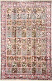 カシミール art. シルク 絨毯 GHI948