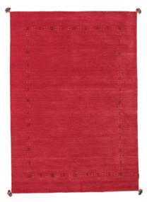 Loribaf Loom Alfombra 162X230 Moderna Hecha A Mano Roja (Lana, India)