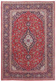 Keshan Patina Rug 241X347 Authentic  Oriental Handknotted Dark Purple/Light Purple (Wool, Persia/Iran)