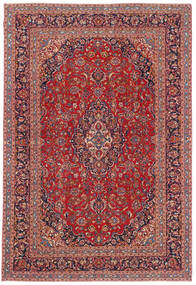 Keshan Patina Rug 244X361 Authentic  Oriental Handknotted Brown/Dark Red (Wool, Persia/Iran)