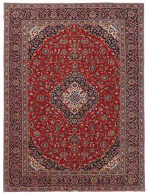 Keshan Patina Rug 263X357 Authentic  Oriental Handknotted Brown/Dark Red Large (Wool, Persia/Iran)
