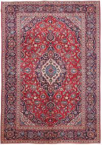 Keshan Patina Teppe 233X331 Ekte Orientalsk Håndknyttet Mørk Lilla (Ull, Persia/Iran)