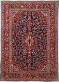 Keshan Patina Rug 295X415 Authentic  Oriental Handknotted Dark Red/Dark Purple Large (Wool, Persia/Iran)
