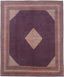 Sarouk Mir Rug 319X397 Authentic  Oriental Handknotted Dark Purple/Light Purple Large (Wool, Persia/Iran)