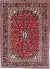 Keshan Patina Rug 241X341 Authentic  Oriental Handknotted Dark Red/Dark Purple (Wool, Persia/Iran)
