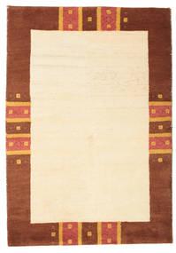 Gabbeh Indisk Matta 124X180 Äkta Modern Handknuten Beige/Roströd (Ull, Indien)