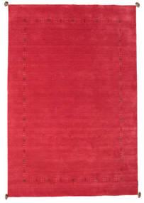 Loribaf Loom Szőnyeg 196X290 Modern Csomózású Piros/Rozsdaszín (Gyapjú, India)
